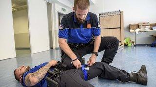 La Police de Nyon se forme pour sauver des vies