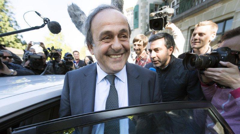 Michel Platini n'exclut pas de se présenter à la présidence de la FIFA en 2019.