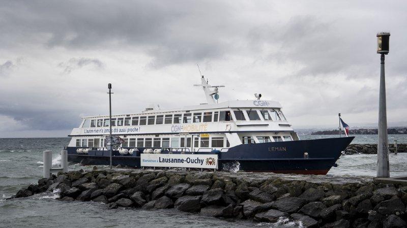 Lac Léman: la CGN a transporté 2'376'317 passagers en 2017, un nouveau record