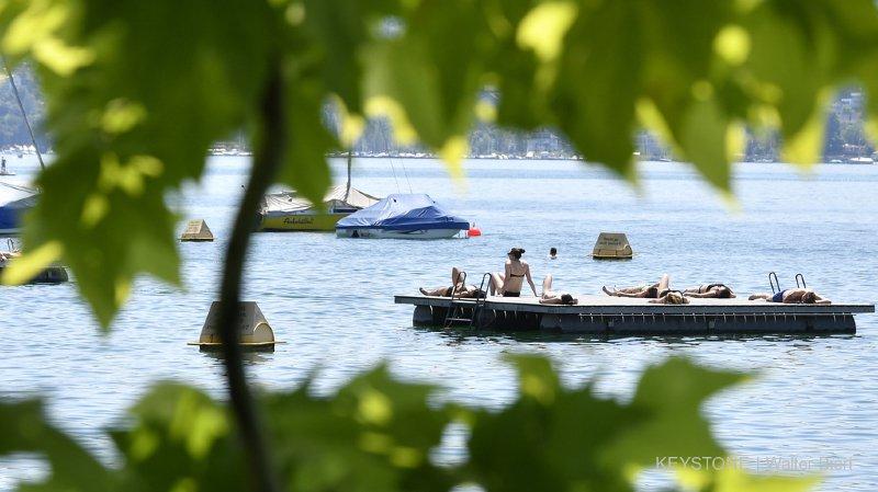 Météo: le record de mercredi a été battu, il a fait plus de 33 degrés ce jeudi, à Sion, pas loin de 30 à Genève ou Lausanne
