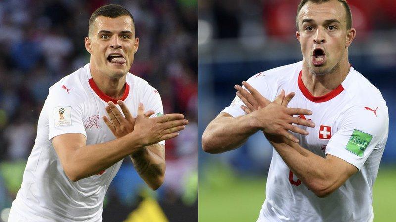 """Coupe du monde 2018: pas de suspension pour les Suisses dans l'affaire des """"aigles albanais"""""""
