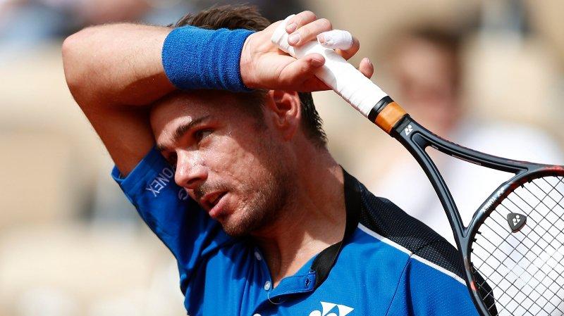 Wawrinka ne tient pas le choc  et quitte déjà Roland-Garros