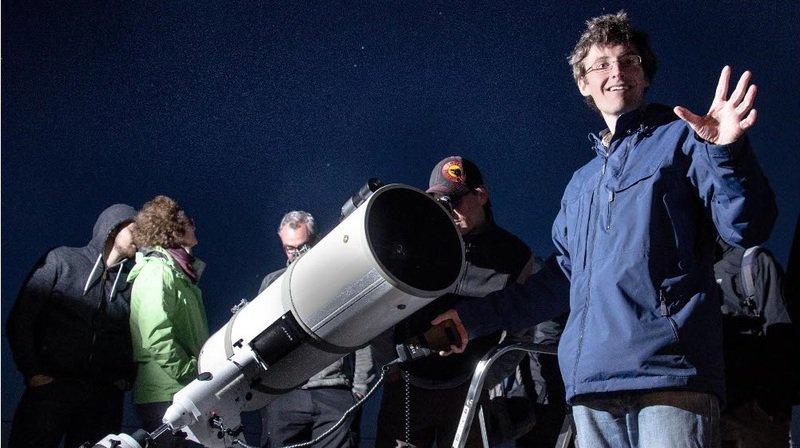 Astronomie avec Astro Events au Signal de Bougy.