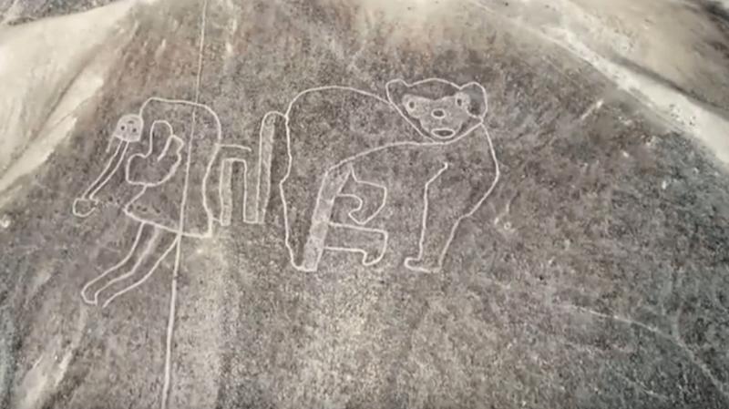 Pérou: des géoglyphes antérieurs aux lignes de Nazca découverts dans le désert