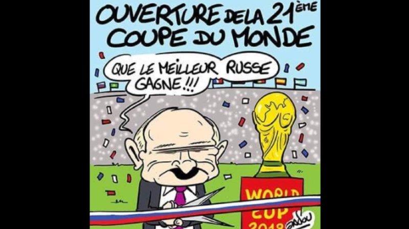 Coupe du monde 2018: le Mondial inspire les dessinateurs de presse