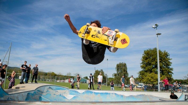 Le skate, à nouveau tendance dans la région