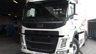 Un camion-poubelle 100% électrique pour les déchets lausannois