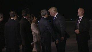 Arrivée à Singapour de Donald Trump et Kim Jong Un