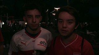 Coupe du monde 2018: ambiance de fête à Lausanne après le nul de la Suisse contre le Brésil