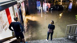 Lausanne: le coût des intempéries qui ont frappé la ville la semaine dernière monte à plus de 10millions de francs