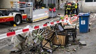 Intempéries: près de 5millions de francs de dégâts à Lausanne