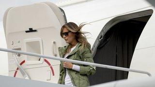 Etats-Unis: Melania Trump visite des enfants sans papiers