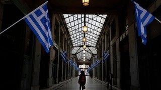 La Grèce en régime  de semi-liberté
