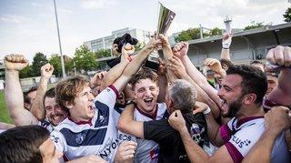 Le Nyon RC remporte la Coupe de Suisse !