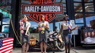 Morges: le Memorial day au garage Harley Davidson, en images