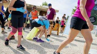 Gland: une course à pied pour nettoyer les rues