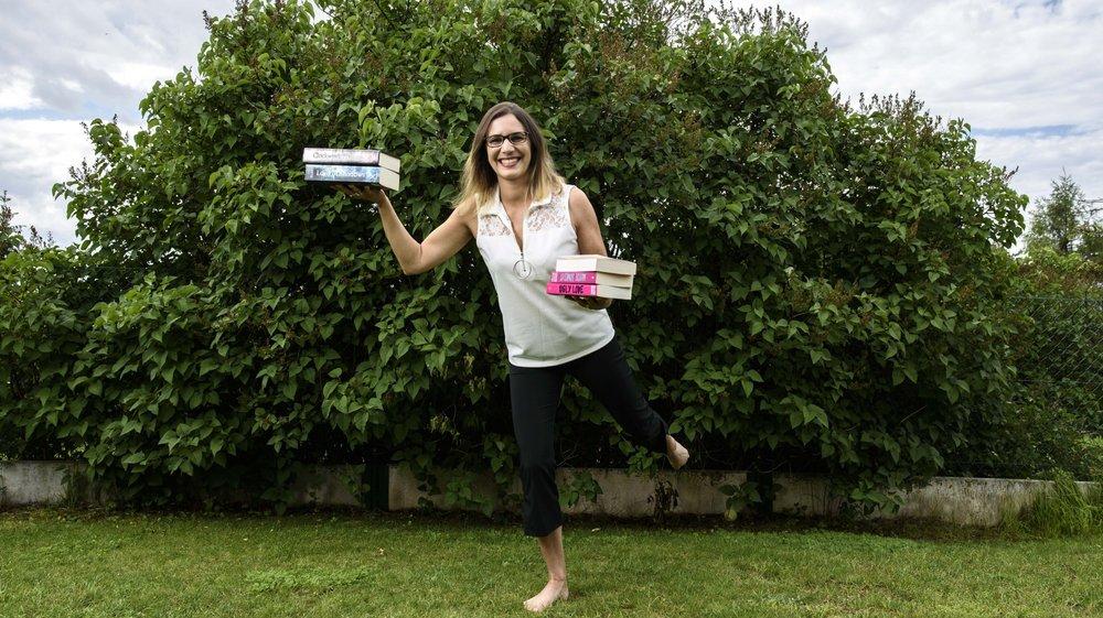 Passionnée de beaux ouvrages, Sabrina Parietti a créé un site d'achat et de vente de livres d'occasion.