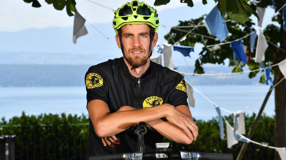 Après avoir effectué le tour du Mont-Blanc l'an dernier, Bastien Quiquerez s'est lancé un nouveau défi alpin.