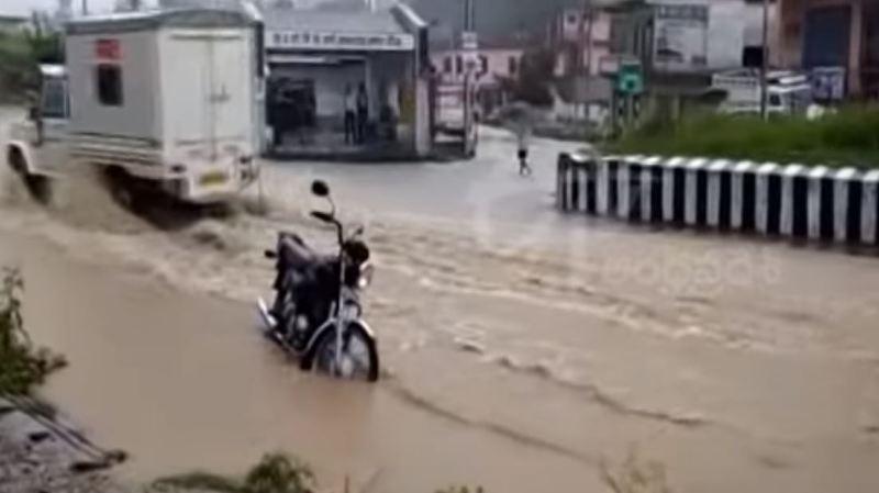 L'Agence météorologique indienne a averti que des précipitations importantes devraient frapper le nord de l'Inde dans les cinq jours à venir.