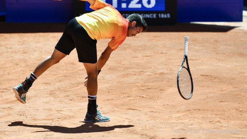 Tennis: le Valaisan Yann Marti viré du tournoi de Gstaad après avoir insulté Severin Lüthi