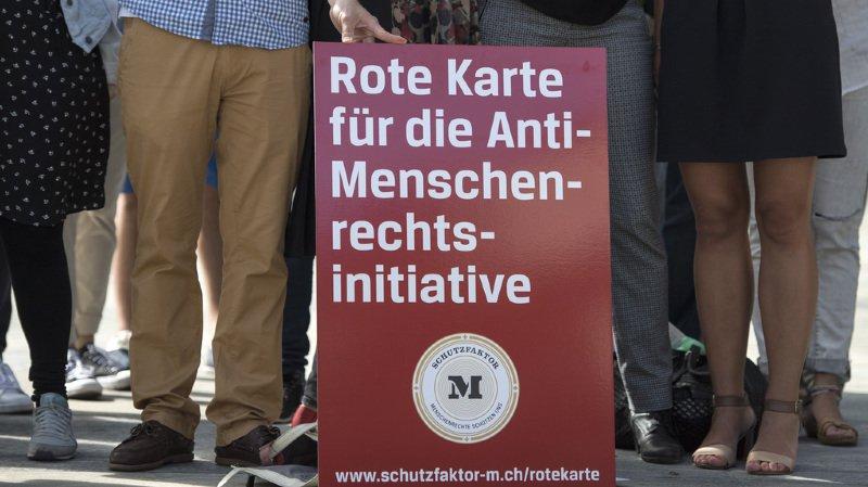 """Les personnalités dénoncent un texte """"contraire aux valeurs de la Suisse"""". (illustration)"""