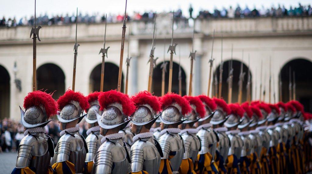 Le projet de rénovation de la caserne de la Garde suisse pontificale au Vatican continue d'avancer.