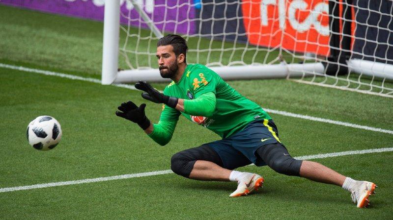 Alisson a battu le précédent record pour un gardien détenu par son compatriote Ederson, passé du Benfica à Manchester City pour 40 millions d'euros l'été dernier. (archive)