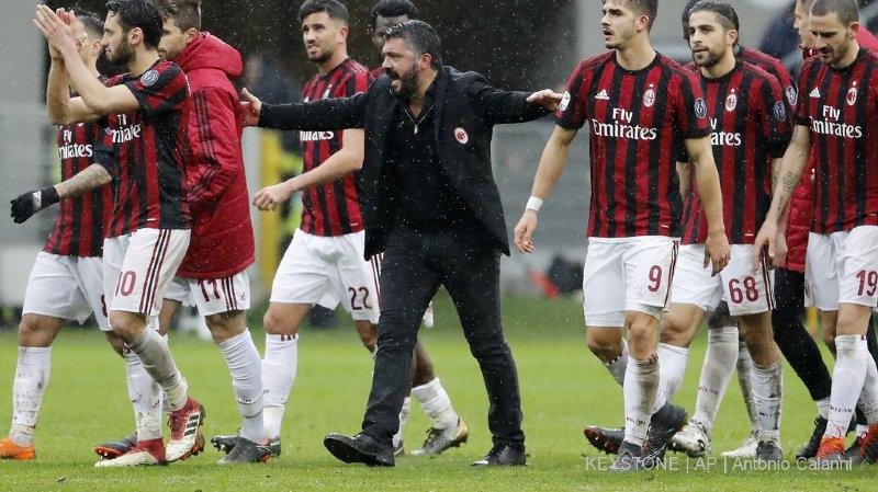 Gattuso et ses joueurs pourront défendre les couleurs de l'AC Milan en Europa League.