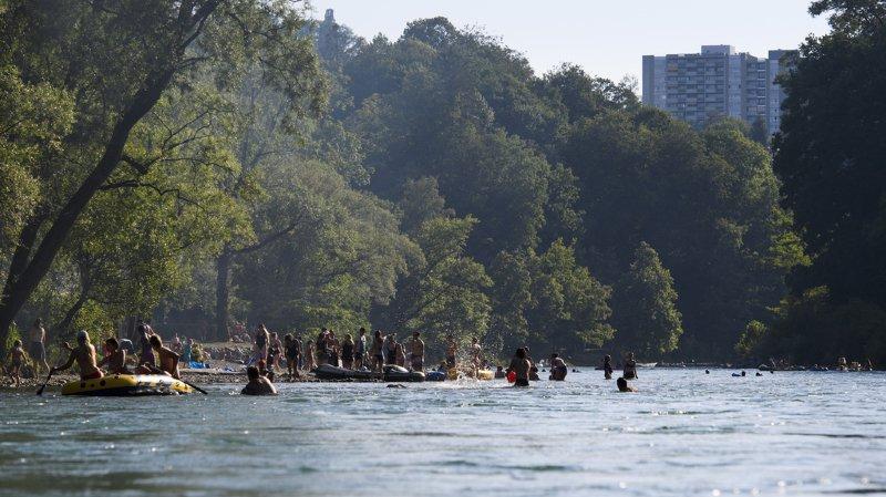 Une femme a disparu dans l'Aar alors qu'elle s'y baignait.