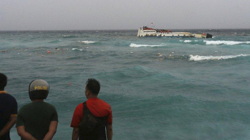 Indonésie: au moins 31 morts dans le naufrage d'un ferry