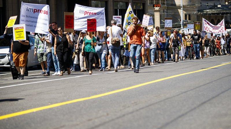 Lausanne: grève des journalistes chez Tamedia maintenue, séance de conciliation jeudi matin