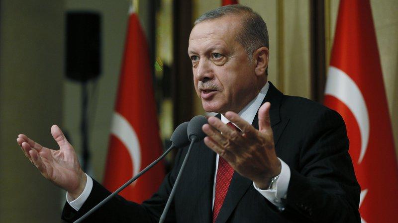 Le président Recep Tayyip Erdogan a salué la décision du footballeur germano-turc Mesut Özil.