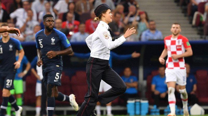 Coupe du monde 2018: 15 jours de prison pour les quatre Pussy Riot qui ont interrompu la finale