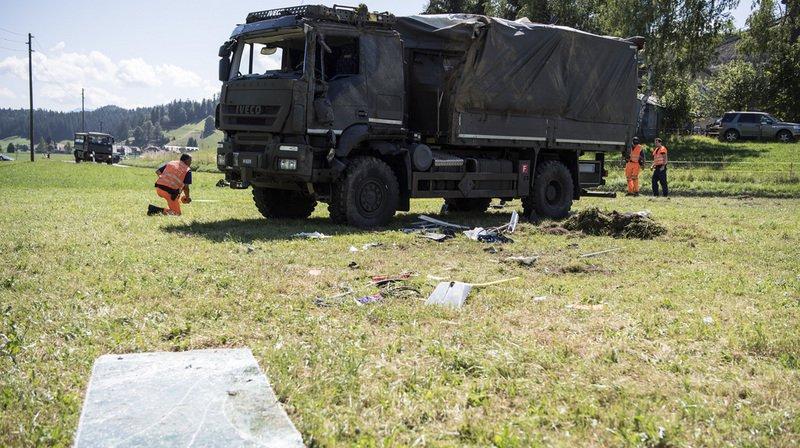 Accident d'un camion militaire: 17 des 19 soldats ont pu quitter l'hôpital, le chauffeur toujours dans un état critique