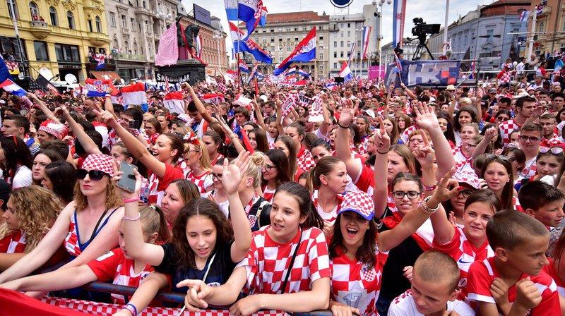 Coupe du monde 2018: quelque 550'000 Croates réunis pour célébrer le retour de leur équipe