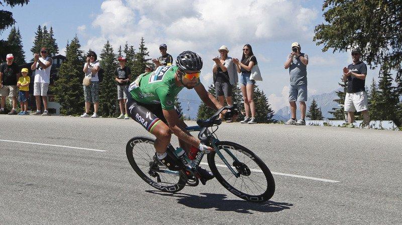 Le Slovaque Peter Sagan (Bora) a gagné au sprint la 13e étape du Tour de France, entre Bourg d'Oisans et Valence (170 km).