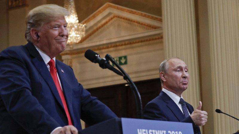 Etats-Unis/Russie: la prochaine rencontre Trump-Poutine n'aura pas lieu en 2018