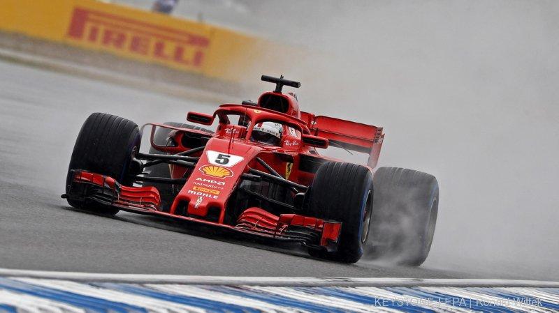 Formule 1 - Grand Prix d'Allemagne: Vettel en pole position, Hamilton en 7e ligne