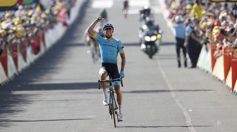 Cyclisme - Tour de France: l'Espagnol Omar Fraile remporte en solitaire la 14e étape à Mende