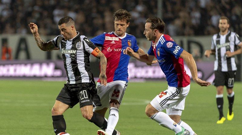 Face au PAOK Salonique, les Rhénans ont été battus 2-1 mais le but à l'extérieur d'Ajeti leur fait beaucoup de bien.
