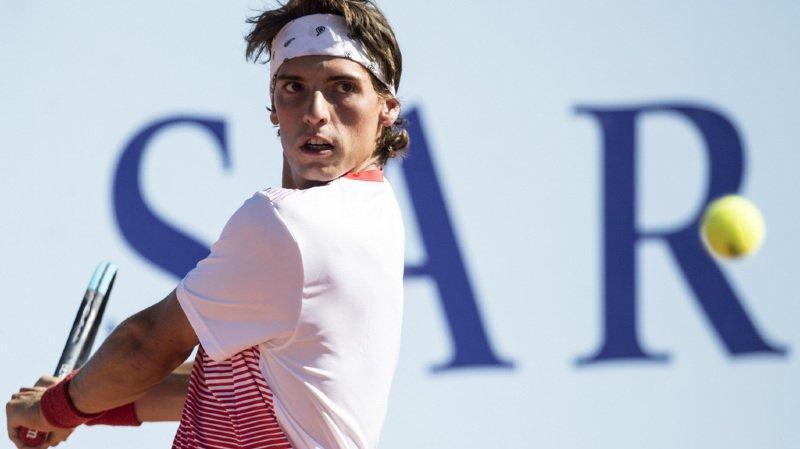 Le Zurichois de 22 ans a été éliminé en huitième de finale du J. Safra Sarasin Swiss Open.