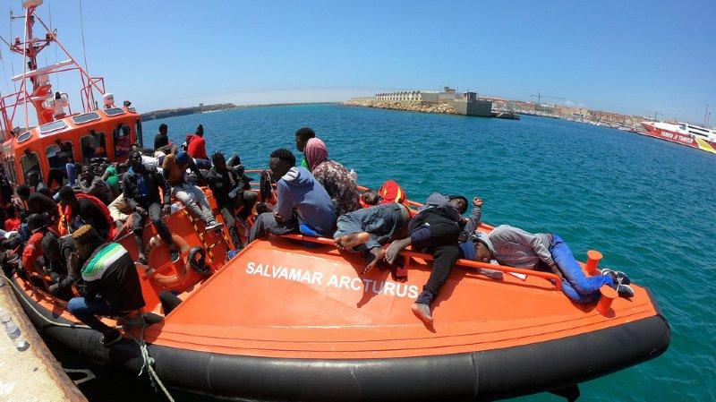 L'Espagne a dépassé cette année l'Italie comme première destination des migrants, avec près de 21'000 arrivés depuis le 1er janvier sur ses rivages.