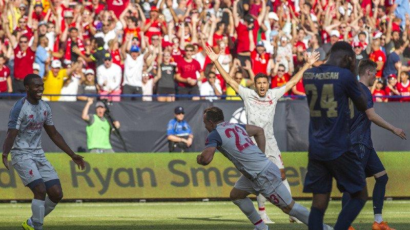 Football: Shaqiri sort une bicyclette pour ses débuts avec Liverpool