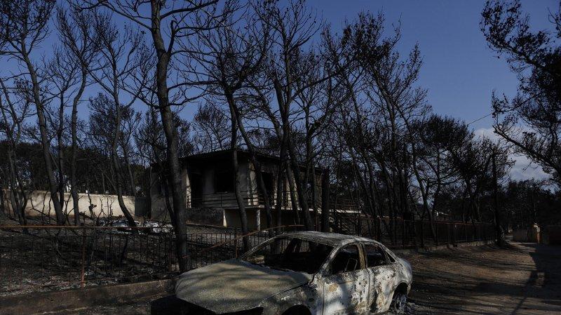 Grèce: le bilan des incendies élevé à 91 morts