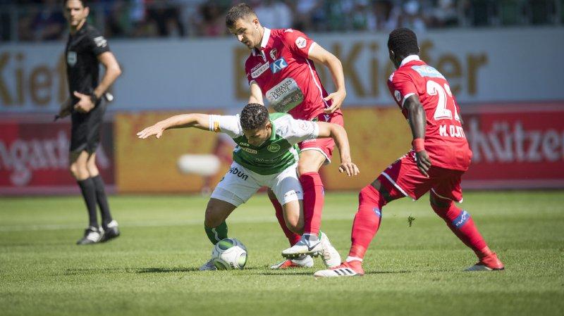 Le FC Sion a fêté son premier succès de la saison en allant s'imposer 4-2 à Saint-Gall lors de la 2e journée de Super League.