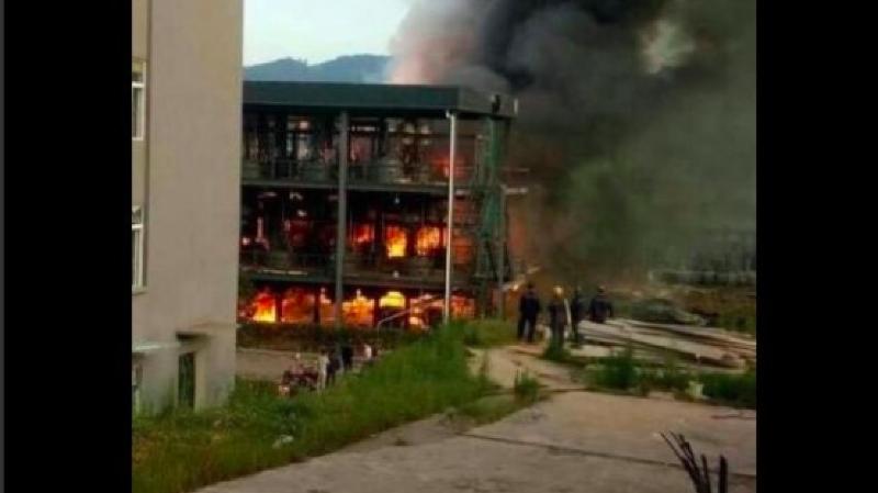 Chine: une explosion dans une usine de produits chimiques fait 19 morts