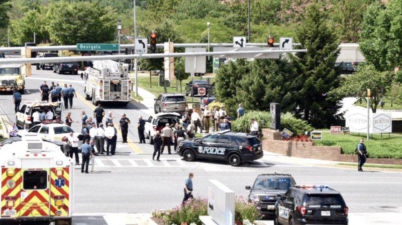Etats-Unis: une fusillade dans un journal près de Washington fait 5 morts