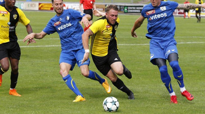 Le Stade Nyonnais montre un visage prometteur face à Servette