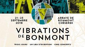 Les Vibrations de Bonmont - 21 au 23 septembre 2018