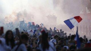 Coupe du monde 2018: le retour triomphal des Bleus sur les Champs-Élysées